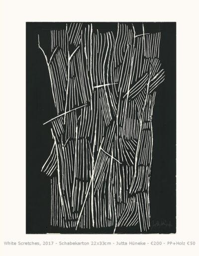Scretches_ abstrakte Komposition einer organischen Struktur